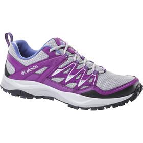 Columbia Wayfinder Schoenen Dames grijs/violet